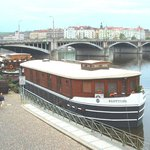 Matylda and Klotylda boat hotel