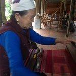 Mai Chau ethnic Thai weaver