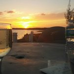 Watch the sunset and sip Pinot Grigio :)