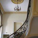 la scalinata centrale