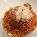 Spaghetti with Housemade Sausage