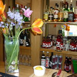 Relax with a drink in our cosy bar