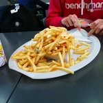 One portion of fries (XL)