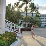 vue hotel côté plage