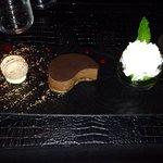 Dessert fort en chocolat