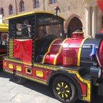 p.zza maggiore - trenino turistico