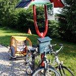 Rental bikes in Krasna Lipa. www.cottage.cz