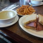 The best Montreal smoked meat since Swartzs in Montreal. Maria the owner is a real sweetheart. G