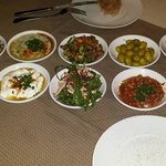 Abendessen Oriental Mezza