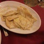 Ravioli di zucca e salsa di pistacchio