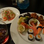 Executive club lounge - happy hour food
