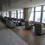 Executive club lounge on the 40th floor