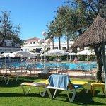 La piscina del hotel!