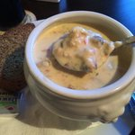 6euro seafood chowder...best in Ireland!