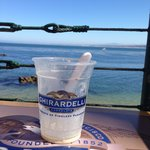 Ice cream with a view!