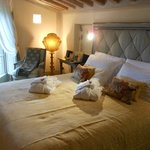 Our rooms with fresh robes, linens and flowers daily