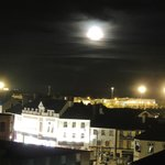 View at Night from our top floor family room Velux Window
