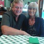 At Shivam Indian Restaurant in Costa Caleta, Fuerteventura. Full and happy