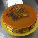 torta al caramello