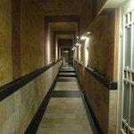 corridoio d'ingresso alla spa