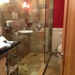 Shower with plenty of room