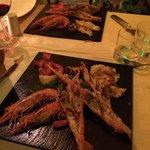 Grilled crustacean platter for 2