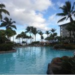 South Tower pool at the Westin Kaanapali ocean resort villas
