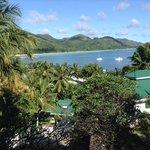 vue de la chambre, en face la plage de la cote d'or !
