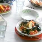 Mussels and a Chicken Curry - we're just getting started