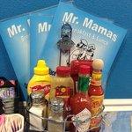 Menus at Mr Mamas