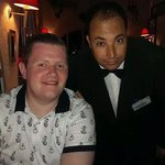 Our fantastic waiter Amor :) xx