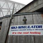 Симулятор полета на лыжах. Пускают группами не меньше 10 человек. Стоит от 45 NOK