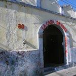 entrada principal de la casa de Paco