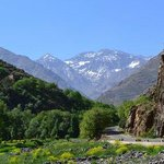 views of Atlas mountains