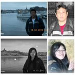 My Chinese fellow Erasmus Mundus and mathematician friend, Han Jiaxu and I traveled to Stockholm