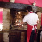 Cooking the Chianina steak