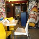 Área do café da manhã/ bar