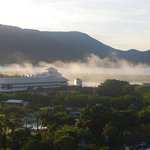 Morning Fog over the Cairns Pier