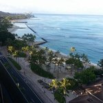 view from balcony looking towards diamond head equally nice looking straight out or towards hono