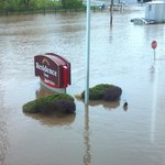 May 01, 2014 flood outside the RI in Conshohocken