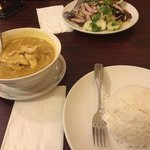 Great food - yellow curry was awesome