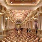 Reception leading to Casino