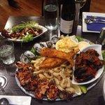 Sea food platter. Amazing!