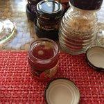 Jam at breakfast
