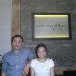 Mr Sang & the wonderful Ms Ngau