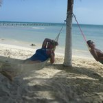 Hammocks on the beach, Isla Mujeres