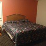 Bed (with unlockable door)