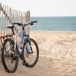 We have complimentary bikes for guest use