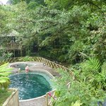 The natural hot springs
