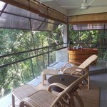 Open air balcony, dining